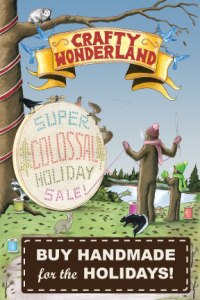 Crafty Wonderland Postcard