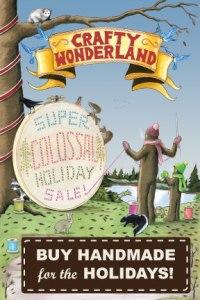 Crafty Wonderland Postcard