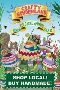 Crafty Wonderland Spring Postcard